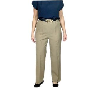 Vintage High Waisted  Wool Blend Trouser Pants